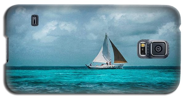 Sailing In Blue Belize Galaxy S5 Case