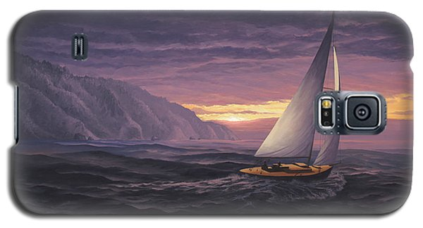 Sailing In Paradise - Big Sur Galaxy S5 Case