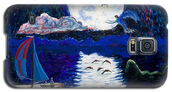 Sailing In The Moonlight Galaxy S5 Case