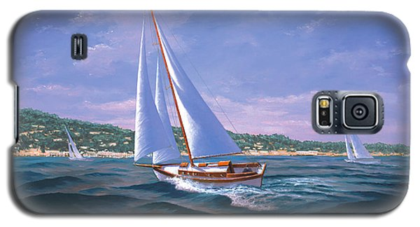 Sailing On Monterey Bay Galaxy S5 Case