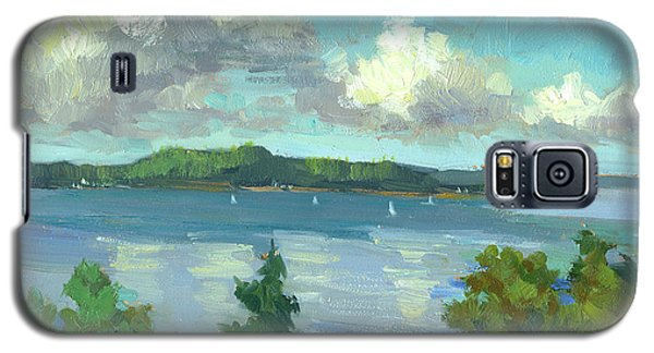 Sailing On Puget Sound Galaxy S5 Case by Diane McClary