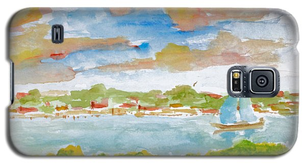 Sailing On The River Galaxy S5 Case
