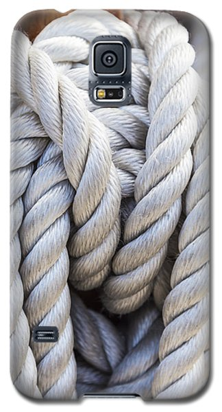 Sailing Rope 1 Galaxy S5 Case by Leigh Anne Meeks