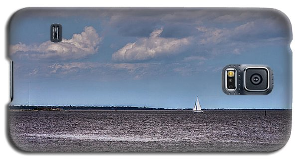 Galaxy S5 Case featuring the photograph Sailing by Sennie Pierson