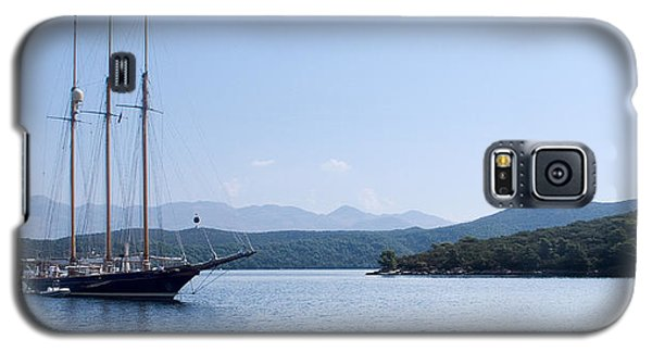 Sailing Ship In The Adriatic Islands Galaxy S5 Case