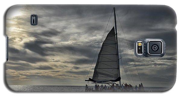 Sailing The Caribbean Galaxy S5 Case