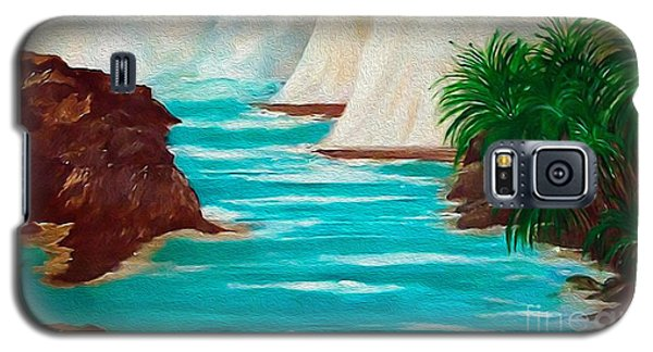 Sailing The Coast Of California Galaxy S5 Case by Sherri's Of Palm Springs