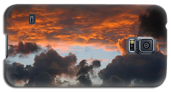 Galaxy S5 Case featuring the photograph Sailors Take Warning by Allen Carroll