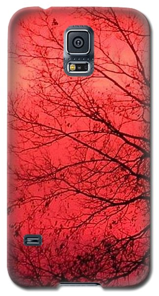 Galaxy S5 Case featuring the photograph Sailor's Warning by Carlee Ojeda