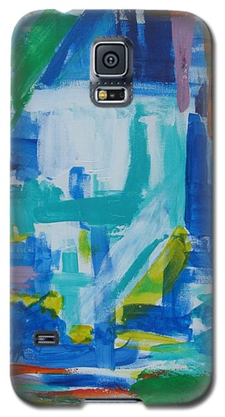 Sails In The Harbor Galaxy S5 Case by Diane Pape