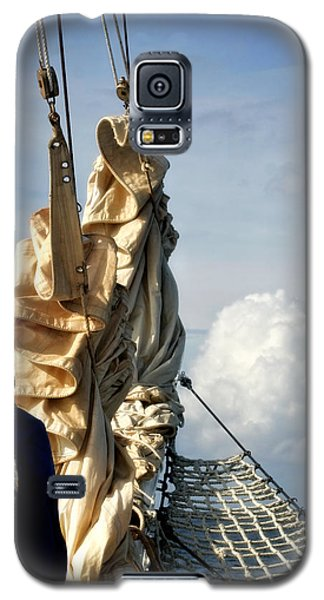 Galaxy S5 Case featuring the photograph Sails by Joan Davis