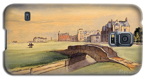Saint Andrews Golf Course Scotland - 18th Hole Galaxy S5 Case