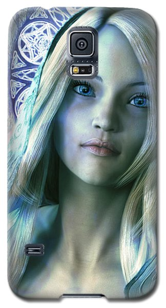 Saint Dorothy Of Caesarea  Bathed In Light. Galaxy S5 Case by Suzanne Silvir