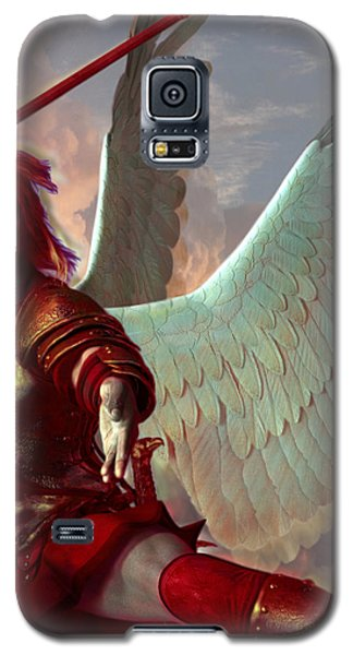 Saint Gabriel The Archangel Galaxy S5 Case by Suzanne Silvir