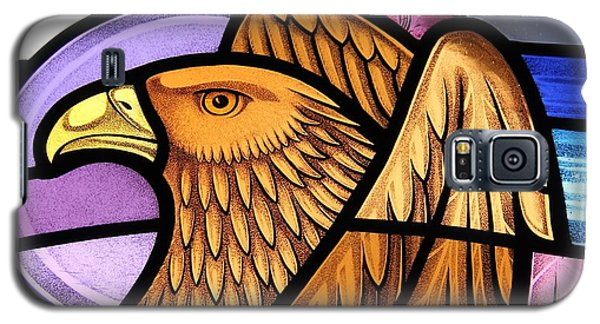 Saint John Eagle  Galaxy S5 Case by Gilroy Stained Glass