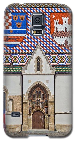 Saint Mark Church Facade Vertical View Galaxy S5 Case