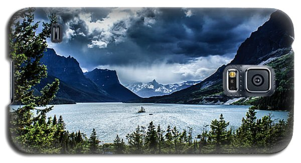 Saint Mary Lake Galaxy S5 Case by Jim McCain