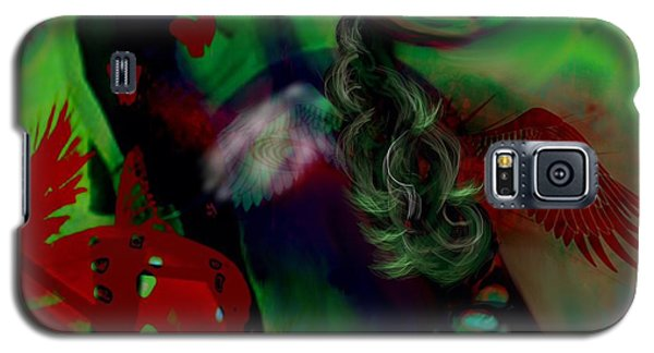 Galaxy S5 Case featuring the digital art Saint Or Sinner by Diana Riukas
