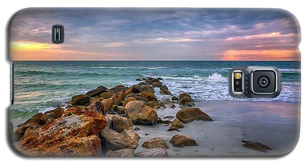 Saint Pete Beach Stormy Sunset Galaxy S5 Case