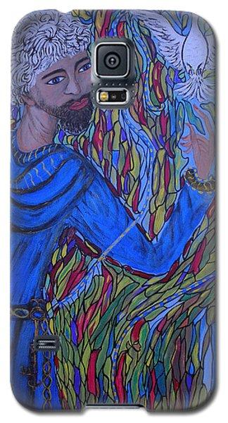 Saint Peter Galaxy S5 Case by Marie Schwarzer