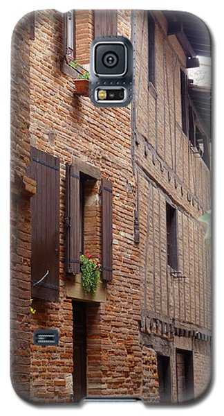 Galaxy S5 Case featuring the photograph Saint-salvi Backstreet In Albi France by Susan Alvaro