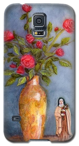 Saint Therese Of The Little Flower Galaxy S5 Case