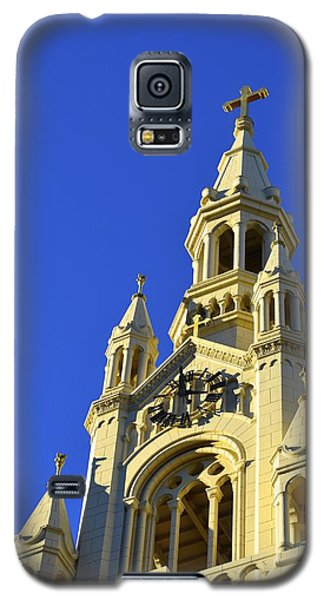 Galaxy S5 Case featuring the photograph Saints Peter And Paul Church San Francisco by Alex King