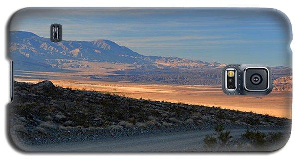 Saline Valley Byway Sunset November 17 2014 Galaxy S5 Case