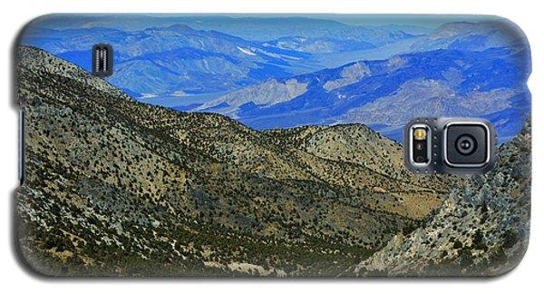 Saline Valley From Cerro Gordo Pass November 16 2014 Galaxy S5 Case