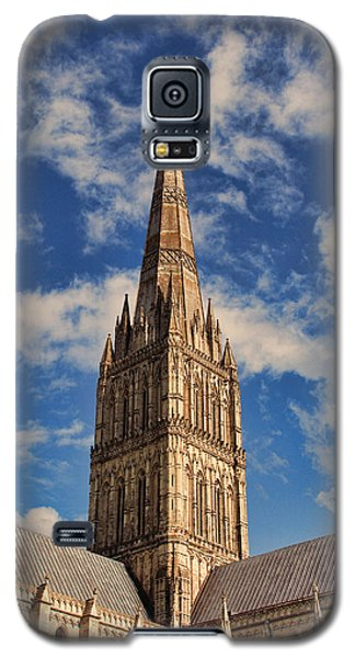 Salisbury Cathedral Galaxy S5 Case by Oscar Alvarez Jr