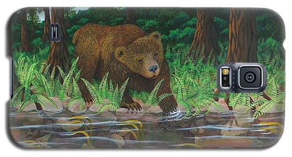 Salmon Fishing Galaxy S5 Case by Katherine Young-Beck