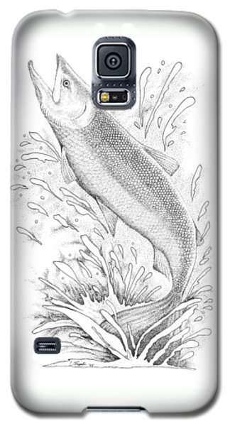 Salmon Galaxy S5 Case by Lawrence Tripoli