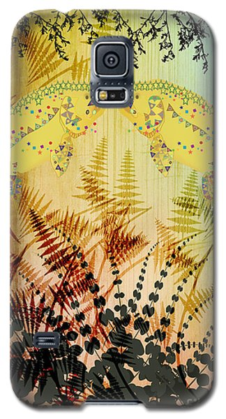 Salmon Love Gold Galaxy S5 Case by Kim Prowse