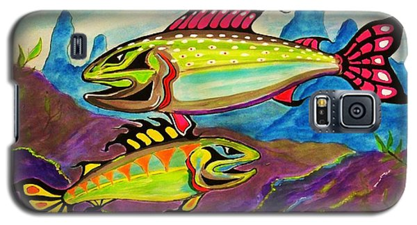 Salmon Of Colour Galaxy S5 Case