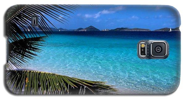 Inspirational Galaxy S5 Case - Saloman Beach - St. John by Stephen  Vecchiotti