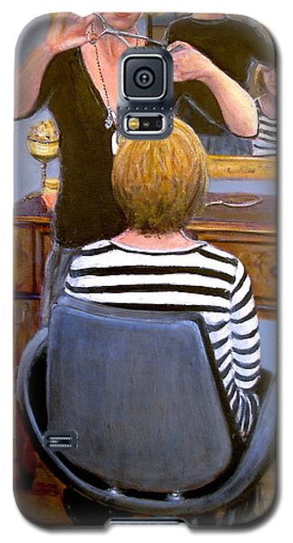 Galaxy S5 Case featuring the painting Salon #1 by Donelli  DiMaria