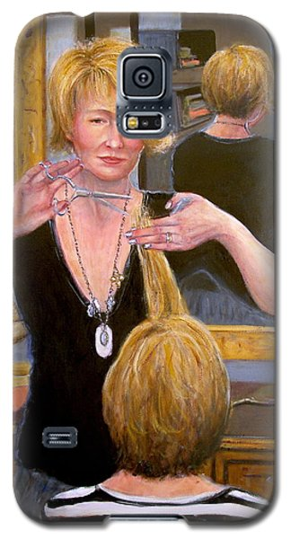 Galaxy S5 Case featuring the painting Salon #2 by Donelli  DiMaria