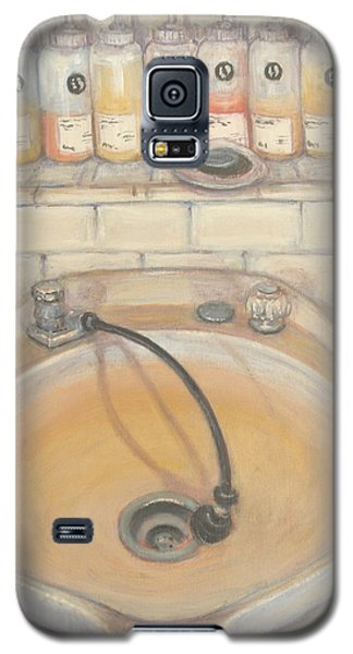 Galaxy S5 Case featuring the painting Salon #3 by Donelli  DiMaria