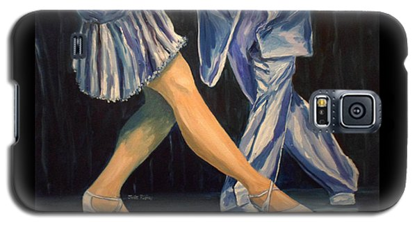 Salsa Stepping Galaxy S5 Case by Julie Brugh Riffey