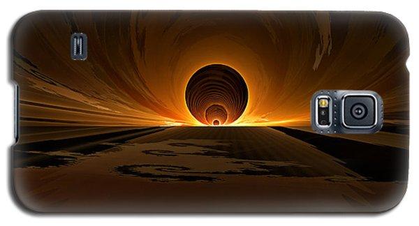 Salsa Sunrise Galaxy S5 Case by GJ Blackman