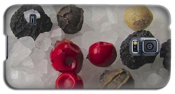 Salt And Pepper Galaxy S5 Case by Brenda Pressnall