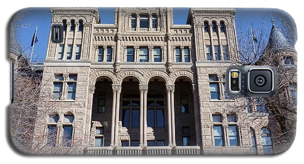 Galaxy S5 Case featuring the photograph Salt Lake City - City Hall - 2 by Ely Arsha