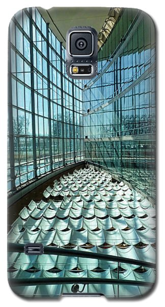 Galaxy S5 Case featuring the photograph Salt Lake City Library by Ely Arsha