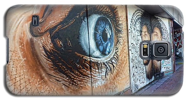 Galaxy S5 Case featuring the photograph Salt Lake City - Mural 1 by Ely Arsha