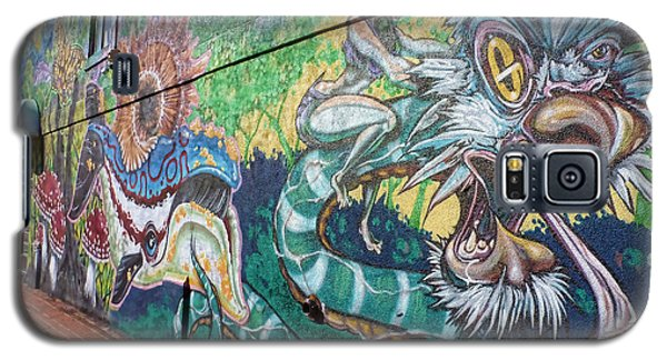 Galaxy S5 Case featuring the photograph Salt Lake City - Mural 2 by Ely Arsha