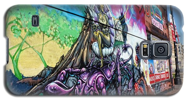 Galaxy S5 Case featuring the photograph Salt Lake City - Mural 3 by Ely Arsha
