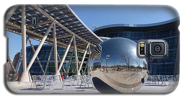 Galaxy S5 Case featuring the photograph Salt Lake City Police Station - 1 by Ely Arsha