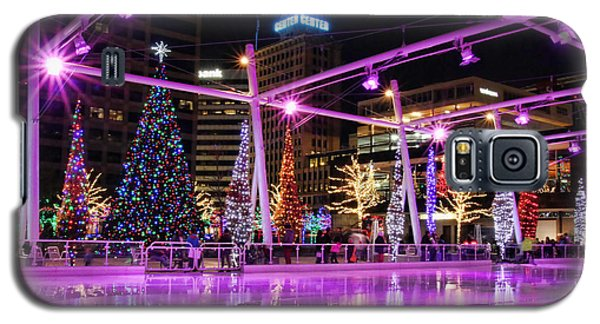 Galaxy S5 Case featuring the photograph Salt Lake City - Skating Rink - 2 by Ely Arsha