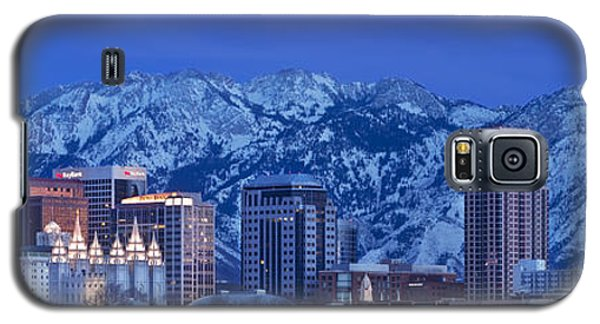 Salt Lake City Skyline Galaxy S5 Case
