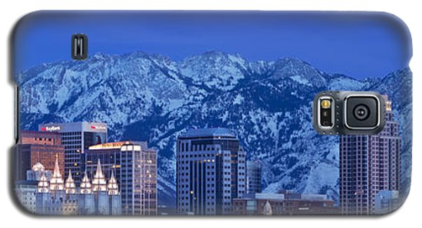 Salt Lake City Skyline Galaxy S5 Case